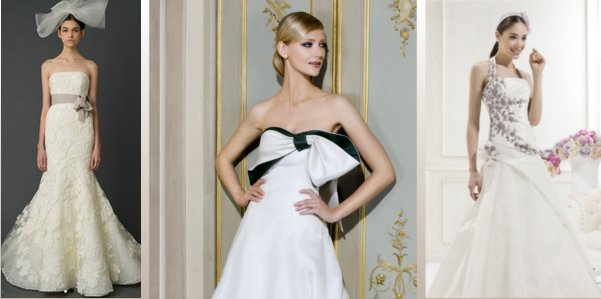Bianco e non solo per la sposa del 2012
