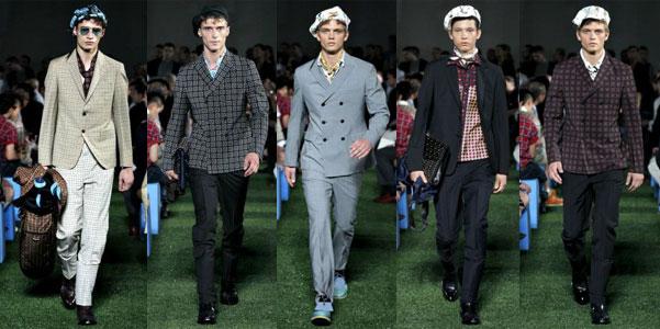Milano Moda Uomo p/e 2012: Prada