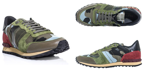 the latest e87ae 67441 Camo trainers Valentino | Fashion Man