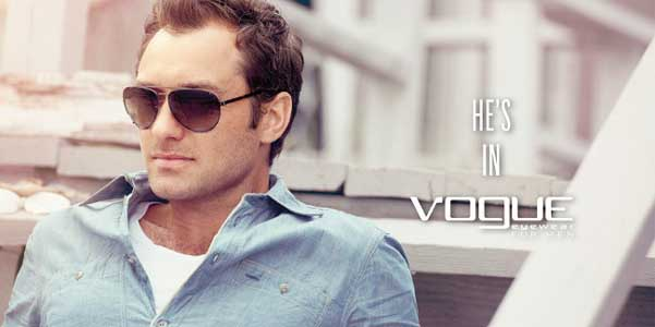 9e1cd15d96 Jude Law Vogue Eyewear   Fashion Man