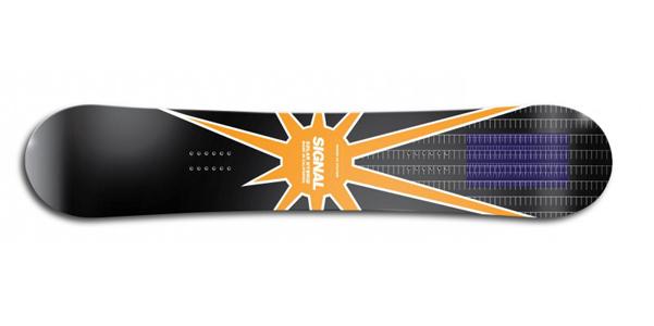 Snowboard solare