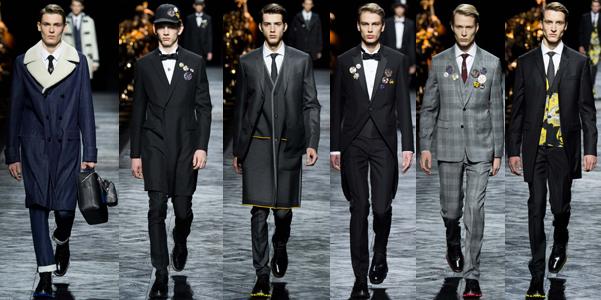 Moda uomo Fall 2015: Dior Homme