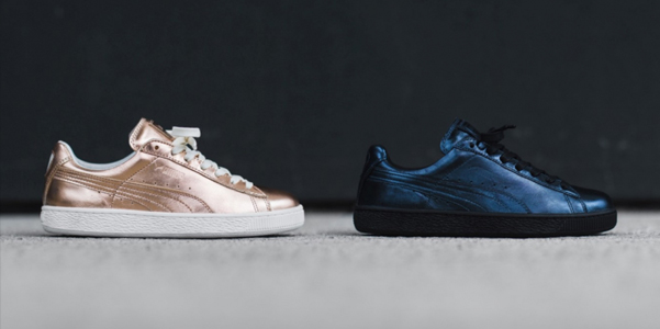 Sneakers-Puma-Basket-Metallic-Pack