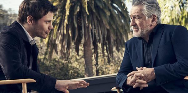 Robert De Niro per Ermenegildo Zegna