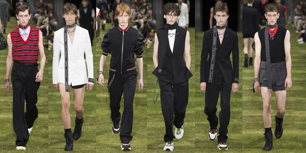 Moda uomo pe 2018: Dior Homme