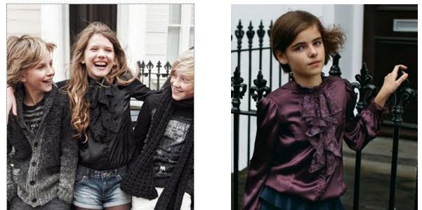Moda bambini A/I 2012 di Sisley
