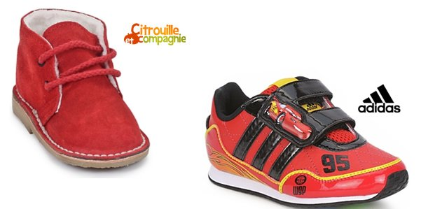 Sneakers rosse per bambino 6RxJqWt