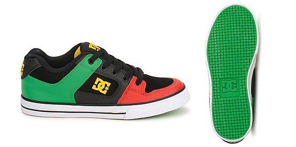 DC Shoes per rider in erba