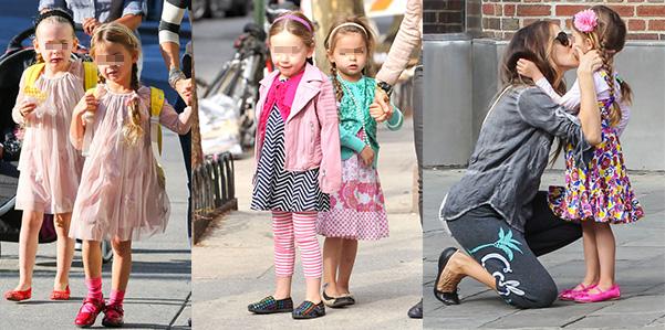 Tabitha e Loretta a scuola con le treccine
