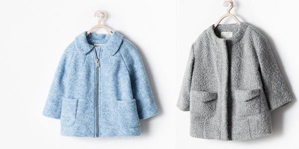 I cappotti Zara Inverno 2014