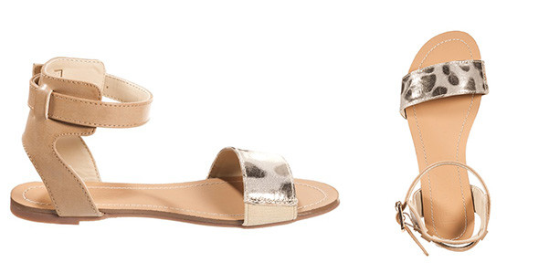 Sandali ultraflat per bimbe trandy
