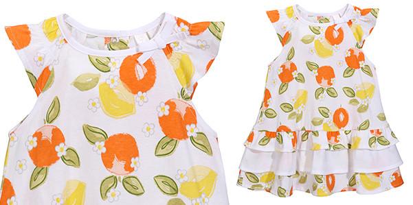 Stampa agrumi per baby fashionista