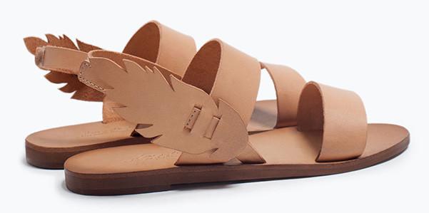 Ha le ali il sandalo da bambina firmato Zara