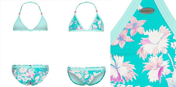 Atomosfere hawaiane per il bikini bimba di O' Neill