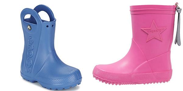 Stivali da pioggia per bambini: belli e colorati
