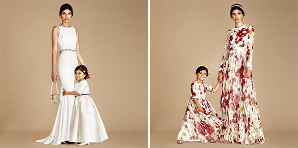 Dolce e Gabbana: gli abiti da festa come quelli della mamma