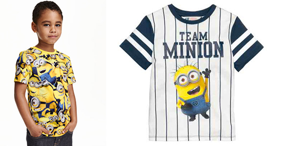 La capsule collection dei Minions firmata H&M