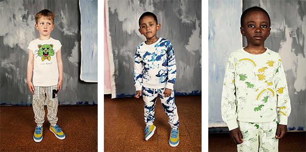 Stampe couture sulle t-shirt di Mini Rodini