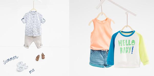 Zara collezione primavera/ estate 2016 neonato