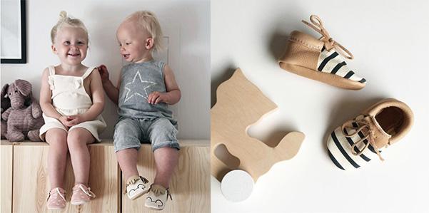 Mini Mocks, le scarpe artigianali ed atossiche per i neonati