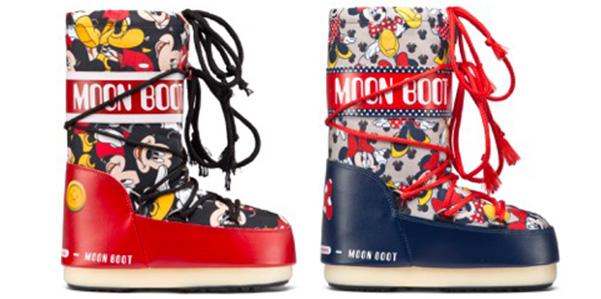Moon Boot: i dopo sci del 2017 celebrano Minnie e Topolino