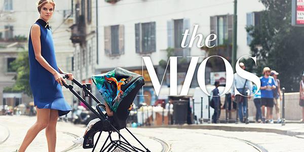 Cybex Mios, il passeggino leggero e compatto per genitori moderni