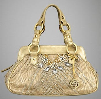 Blumarine handbag: l'oro che luccica