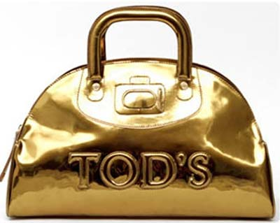 Preview 2008: Bowling Bag gold by Tod's