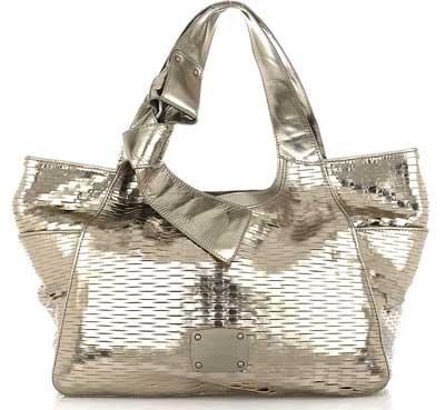 Jimmy Choo Silver: borse abbaglianti