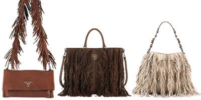 Modelli dell'ultima collezione di borse di Prada