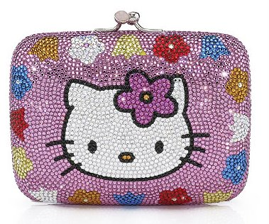 Hello Kitty clutch by Judith Leiber