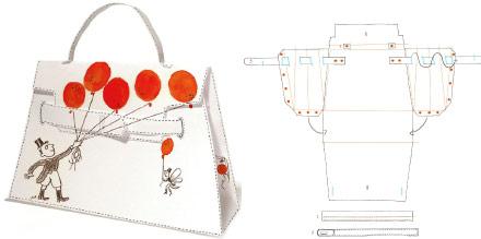 Cartamodelli+borse