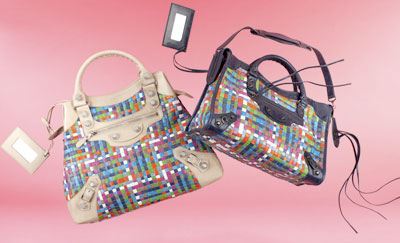 Balenciaga multicolor bags
