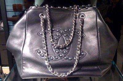 Chanel pearls bag