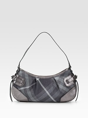burberry metallic check