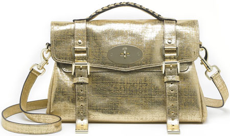 Mulberry Alexa Gold