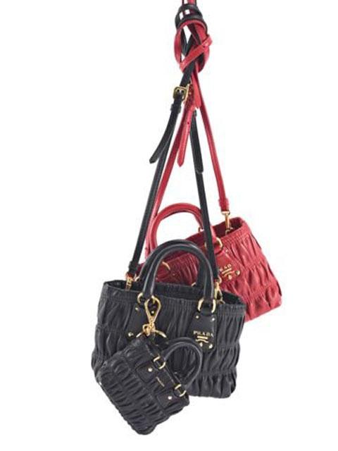 Le borse mini di Prada