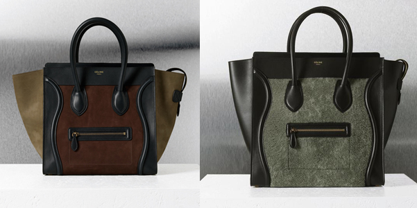 Mini Luggage Celine.