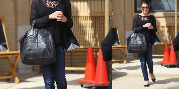 Lea Michele Givenchy Nightingale