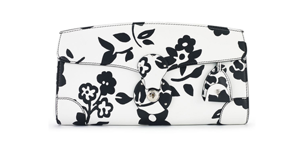 Ralph Lauren Soft Ricky clutch