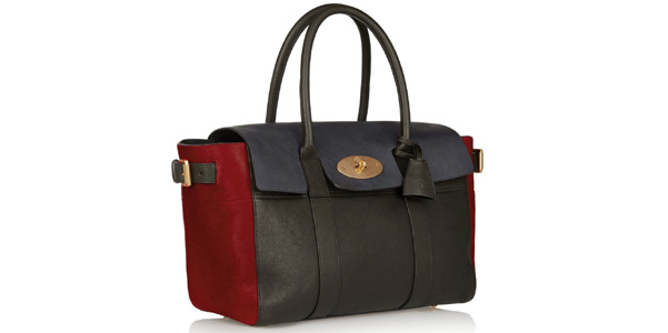 Mulberry Bayswater tricolor