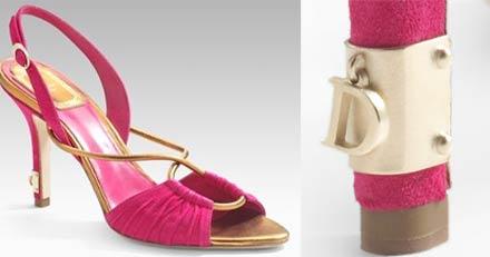 Sandalo Dior con charm