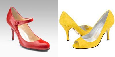 modelli di Christian Louboutin e Angiolini