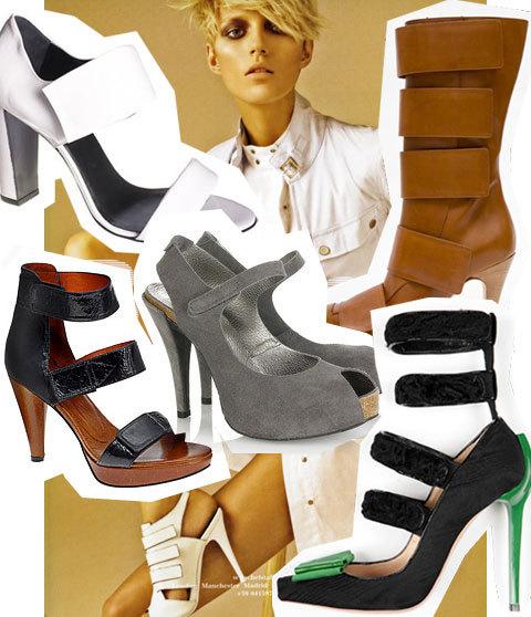 velcro sulle scarpe