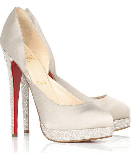 Louboutin crystals