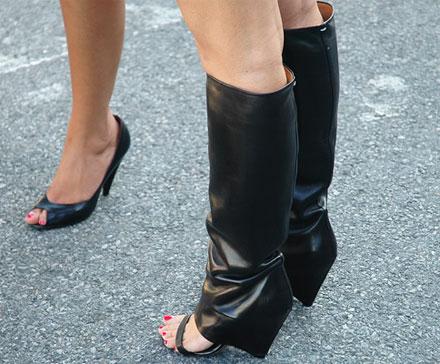 I sandali con ghetta di Margiela