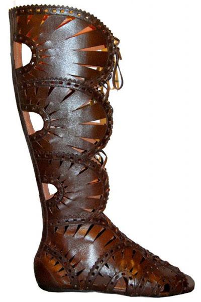 Azzedine Alaia gladiator boots
