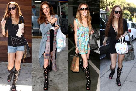 Azzedine Alaia Lindsay Lohan