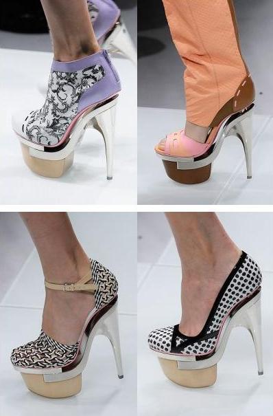 scarpe versace p/e 2010