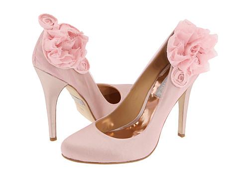 Badgley Mischka pink